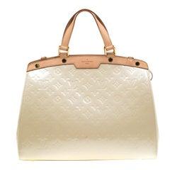 Louis Vuitton Perle Monogram Vernis Brea GM Bag