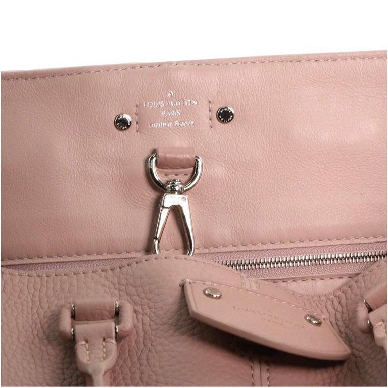 Louis Vuitton Pernelle Handbag Taurillon Leather For Sale 4