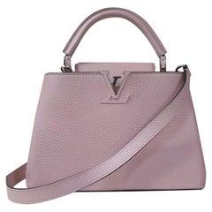 Louis Vuitton Petale Taurillon Leather Capucines BB Bag