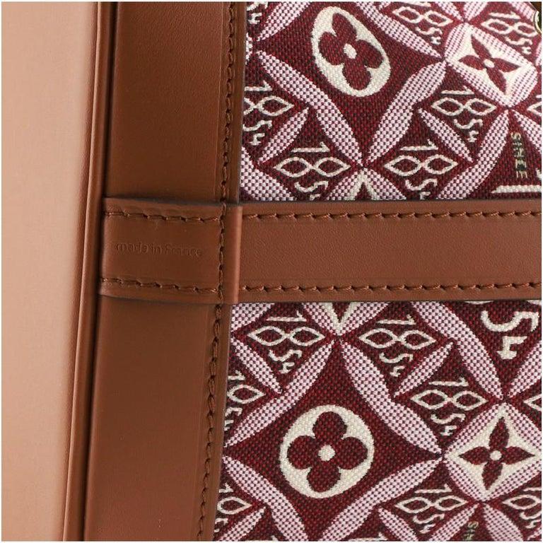Louis Vuitton Petit Noe NM Handbag Limited Edition Since 1854 Monogram Jaquard For Sale 2