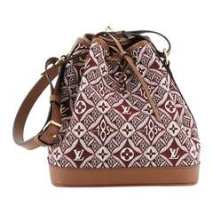 Louis Vuitton Petit Noe NM Handbag Limited Edition Since 1854 Monogram Jaquard