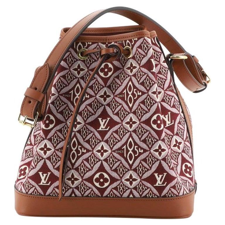 Louis Vuitton Petit Noe NM Handbag Limited Edition Since 1854 Monogram Jaquard For Sale