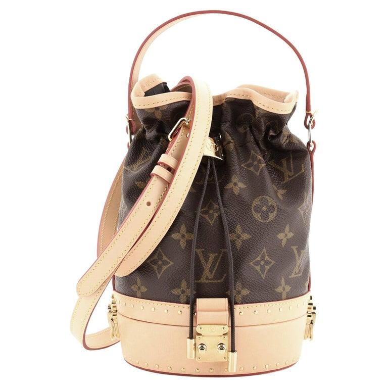 Louis Vuitton Petit Noe Trunk Bag Monogram Canvas For Sale