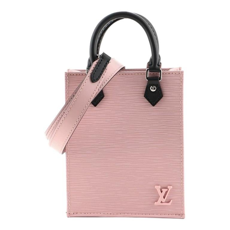 Louis Vuitton Petit Sac Plat Bag Epi Leather