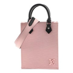 Louis Vuitton Petit Sac Plat Bag Epi Leather
