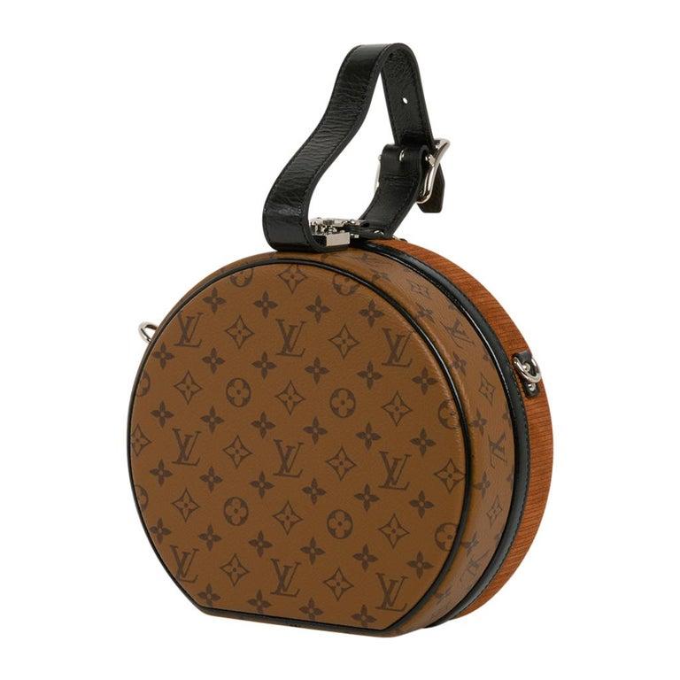 Louis Vuitton Petite Boite Chapeau Reverse Crossbody / Shoulder Bag New For Sale 5