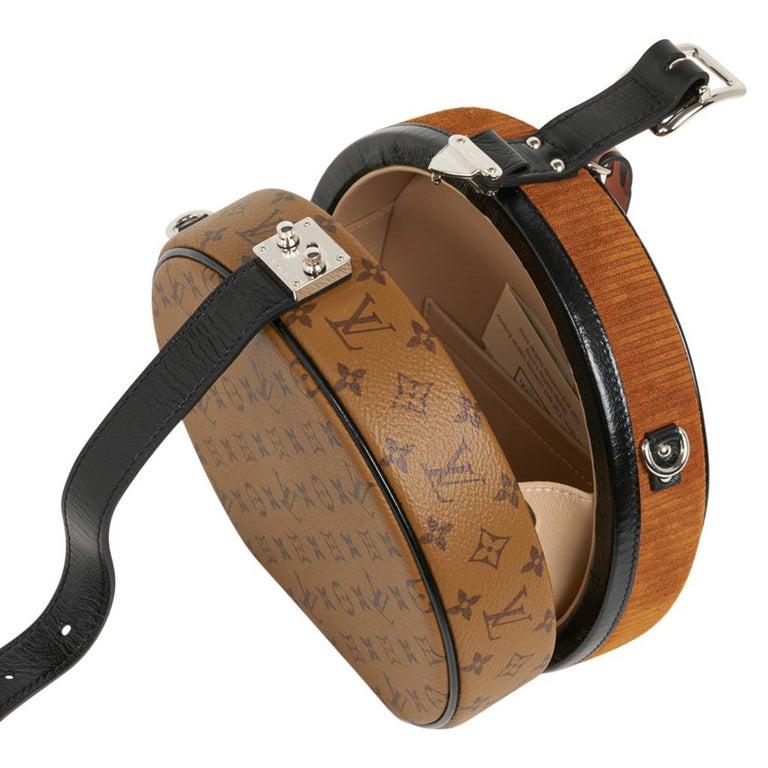 Louis Vuitton Petite Boite Chapeau Reverse Crossbody / Shoulder Bag New For Sale 7