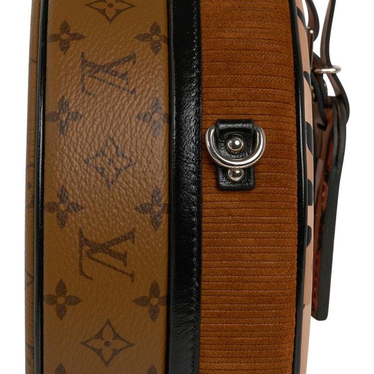 Louis Vuitton Petite Boite Chapeau Reverse Crossbody / Shoulder Bag New For Sale 9
