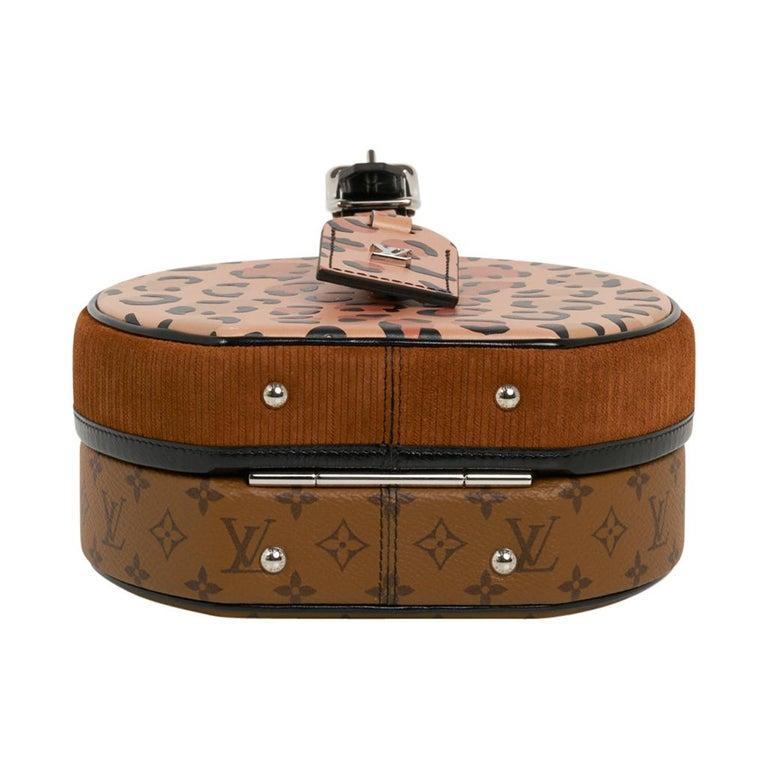 Louis Vuitton Petite Boite Chapeau Reverse Crossbody / Shoulder Bag New For Sale 10