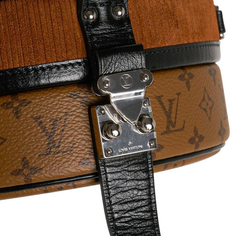 Brown Louis Vuitton Petite Boite Chapeau Reverse Crossbody / Shoulder Bag New For Sale