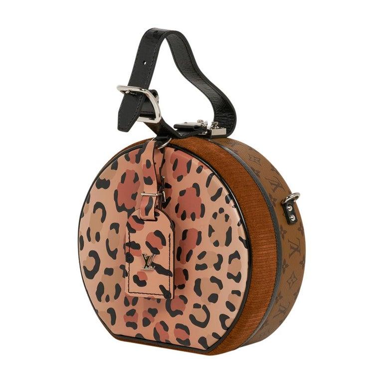 Louis Vuitton Petite Boite Chapeau Reverse Crossbody / Shoulder Bag New For Sale 1