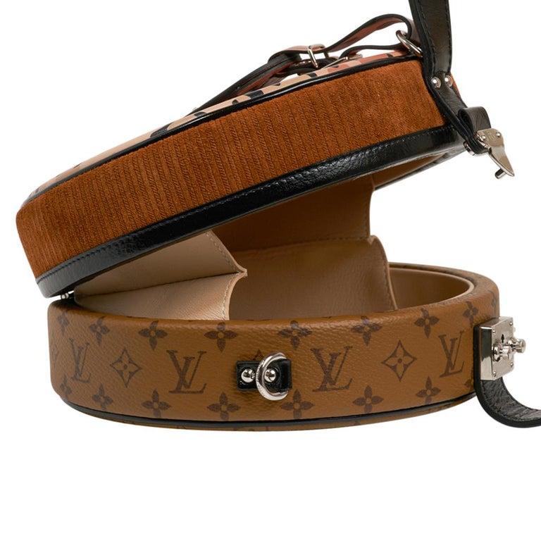 Louis Vuitton Petite Boite Chapeau Reverse Crossbody / Shoulder Bag New For Sale 2