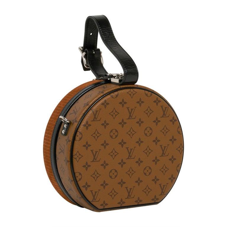 Louis Vuitton Petite Boite Chapeau Reverse Crossbody / Shoulder Bag New For Sale 3