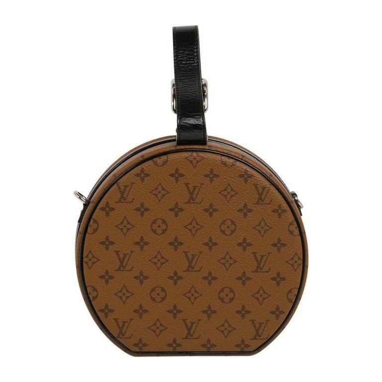 Louis Vuitton Petite Boite Chapeau Reverse Crossbody / Shoulder Bag New For Sale 4