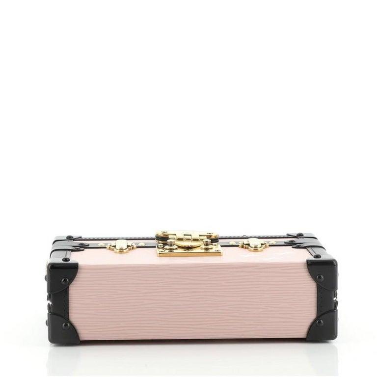 Louis Vuitton Petite Malle Handbag Epi Leather For Sale 1
