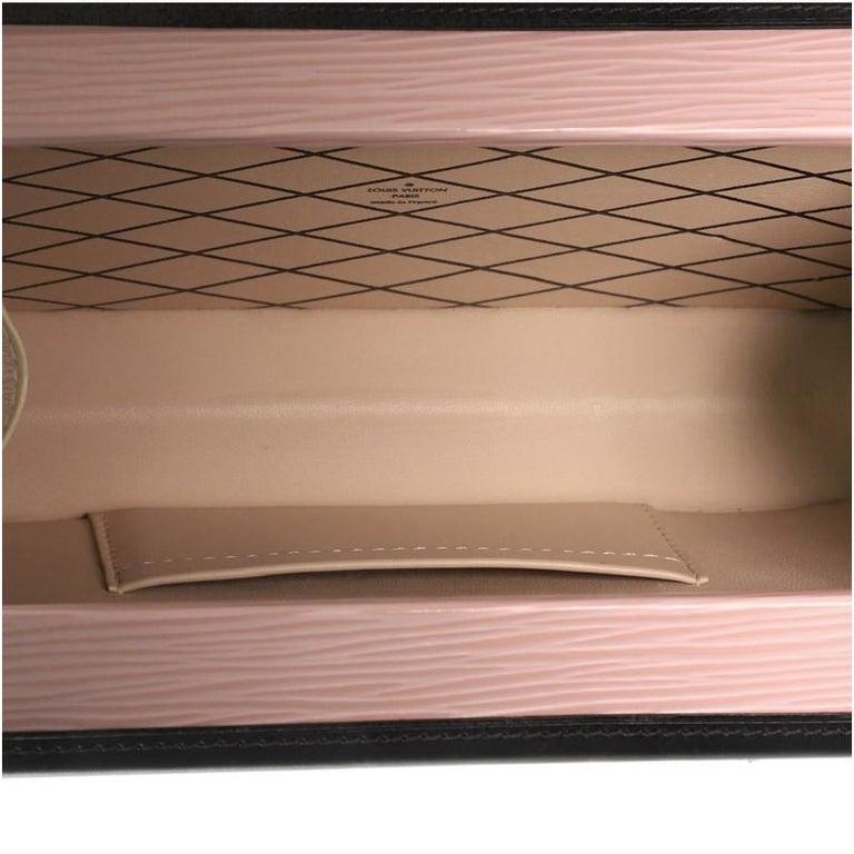 Louis Vuitton Petite Malle Handbag Epi Leather For Sale 2