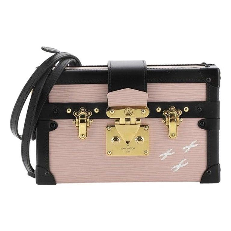 Louis Vuitton Petite Malle Handbag Epi Leather For Sale