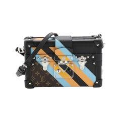 Louis Vuitton Petite Malle Handbag Limited Edition Monogram Canvas