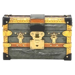 Louis Vuitton Petite Malle Handbag Limited Edition Time Trunk