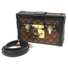 LOUIS VUITTON Petite Malle Mini trunk Womens shoulder bag M44199