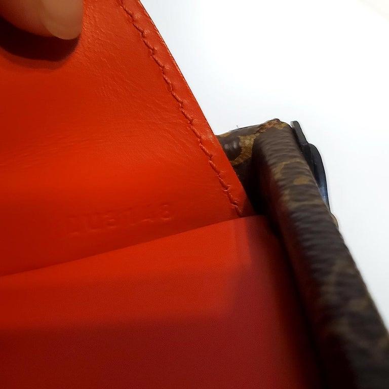 Louis Vuitton Petite Malle Patches Stories Brown Monogram Crossbody Handbag For Sale 3