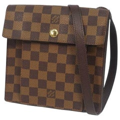LOUIS VUITTON Pimlico Womens shoulder bag N45272 Damier ebene