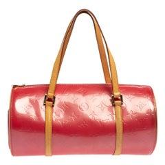 Louis Vuitton Pink Monogram Vernis Papillon 30 Bag