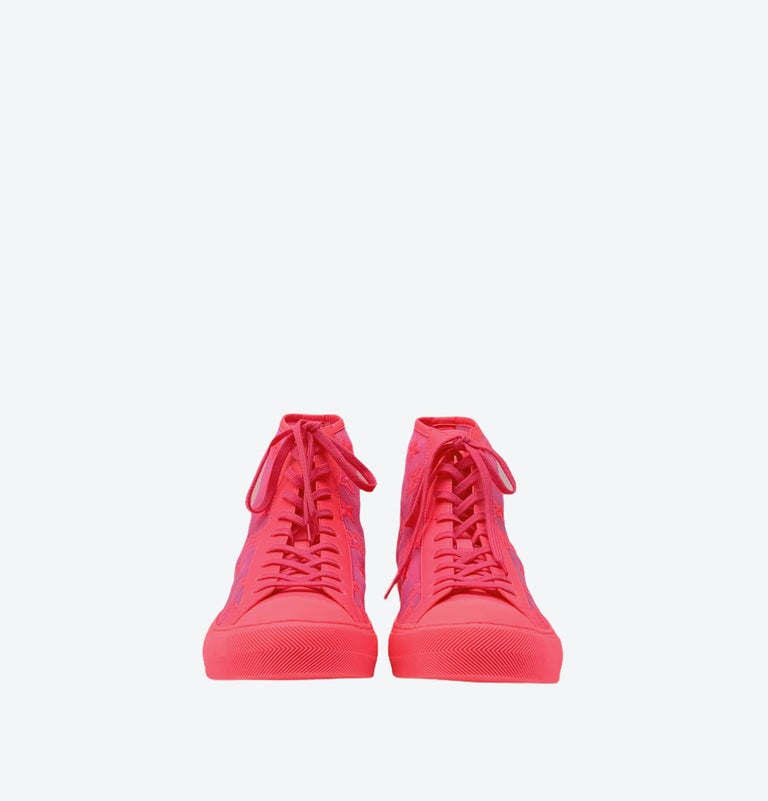 Louis Vuitton Pink Tattoo Sneakers For Sale 3