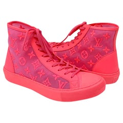 Louis Vuitton Pink Tattoo Sneakers