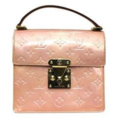 Louis Vuitton Pink Vernis Spring Street Bag