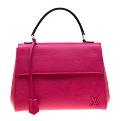 Louis Vuitton Pivoine Epi Leather Cluny MM Bag