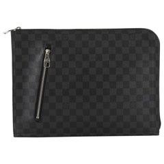 Louis Vuitton Poche Documents Damier Graphit