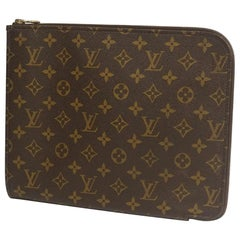 LOUIS VUITTON Poche Documents Mens second bag M53457