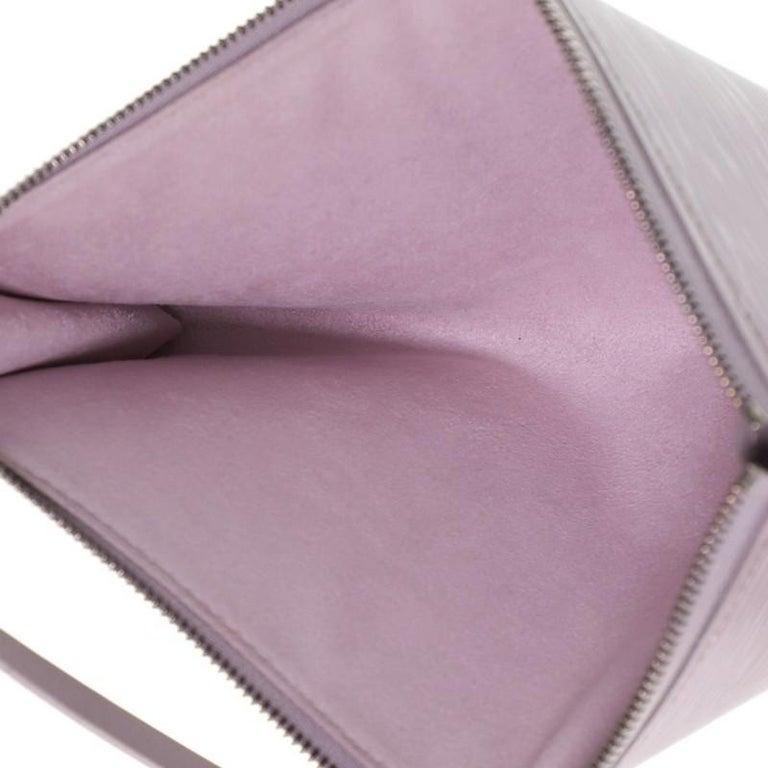 Louis Vuitton Pochette Accessoires Epi Leather For Sale 2
