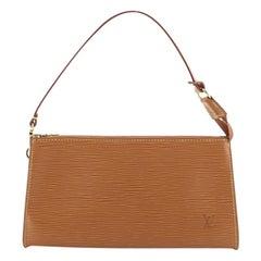 Louis Vuitton Pochette Accessoires Epi Leather