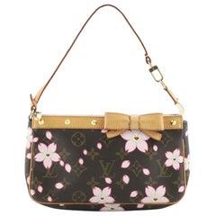 Louis Vuitton Pochette Accessoires Limited Edition Cherry Blossom Monogram