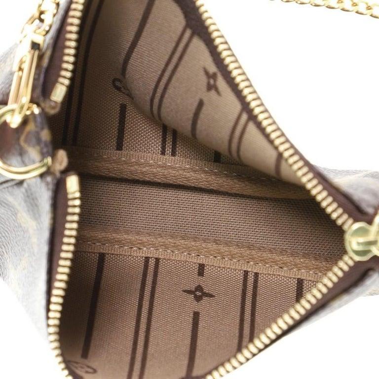 Louis Vuitton Pochette Accessoires Limited Edition Monogram Canvas Mini  For Sale 1