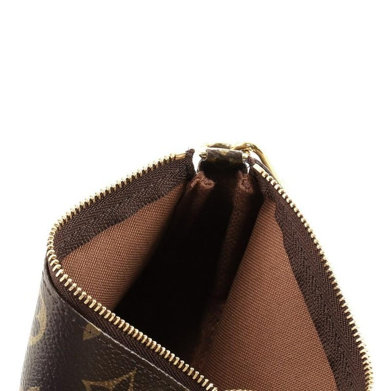 Louis Vuitton Pochette Accessoires Monogram Canvas Mini For Sale 2