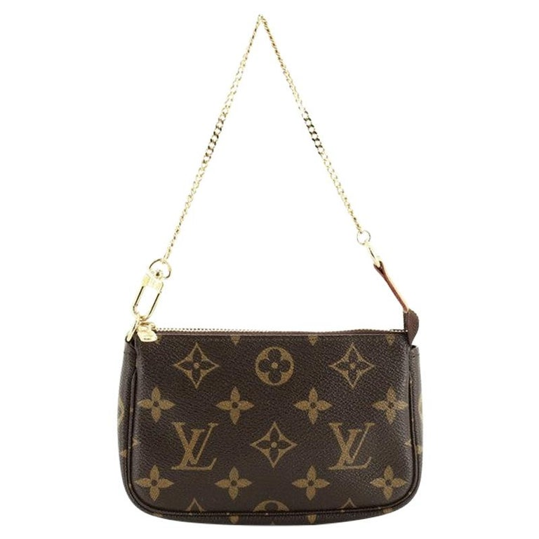 Louis Vuitton Pochette Accessoires Monogram Canvas Mini For Sale