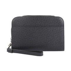Louis Vuitton Pochette Baikal Clutch Taiga Leather