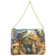 Louis Vuitton Pochette Clutch Limited Edition Jeff Koons Rubens Print Canvas