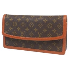 LOUIS VUITTON Pochette Dame GM unisex clutch bag M51810