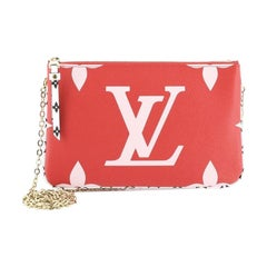 Louis Vuitton Pochette Double Zip Limited Edition Colored Monogram Giant