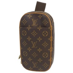 LOUIS VUITTON Pochette Gange Waist bag Mens body bag M51870