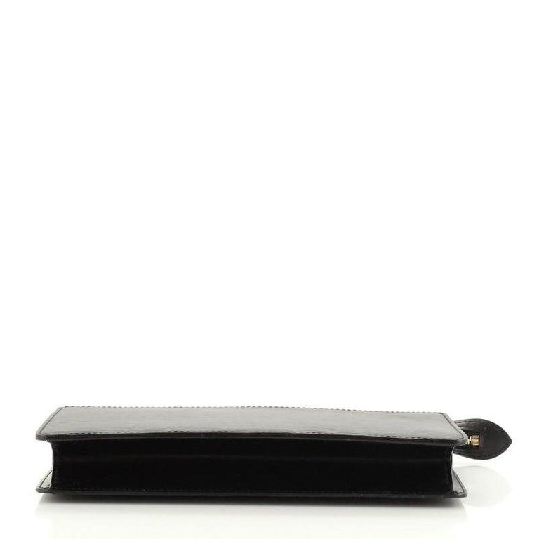 Women's or Men's Louis Vuitton Pochette Homme Epi Leather For Sale