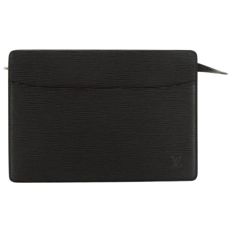 Louis Vuitton Pochette Homme Epi Leather For Sale