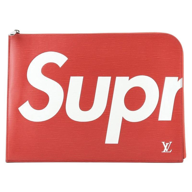 Louis Vuitton Pochette Jour Limited Edition Supreme Epi Leather GM