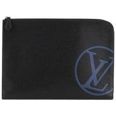 Louis Vuitton Pochette Jour Printed Leather GM