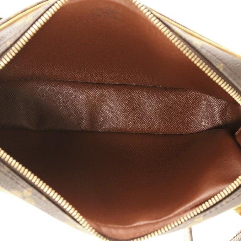 Women's or Men's Louis Vuitton Pochette Marly Bandouliere Bag Monogram Canvas For Sale