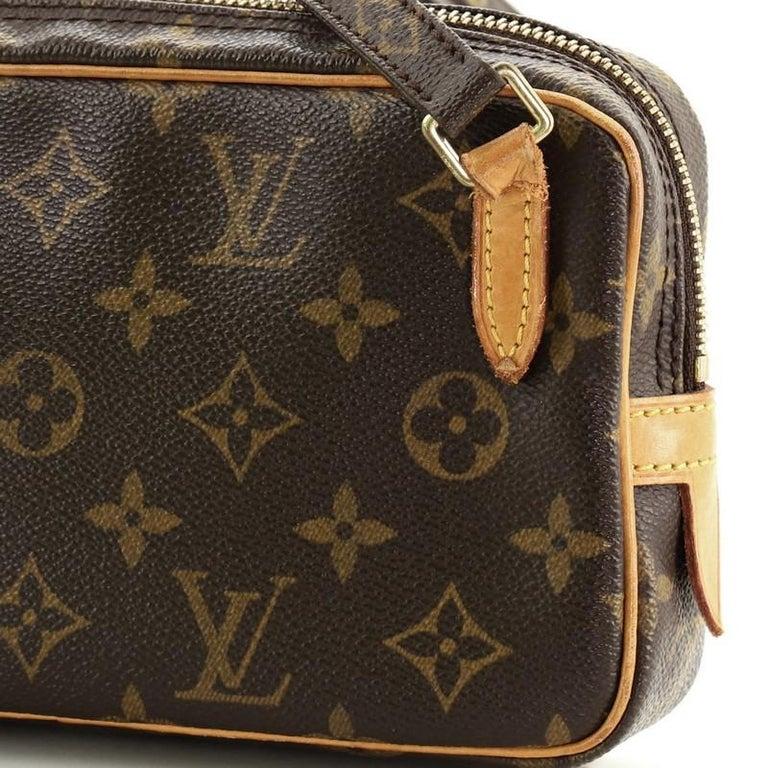 Louis Vuitton Pochette Marly Bandouliere Bag Monogram Canvas For Sale 2